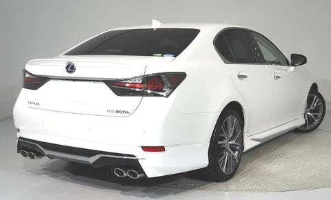 Genuine Lexus Japan 2016-2019 GS Factory Painted Rear Skirt with Chrome Garnish and Dual Exhaust System