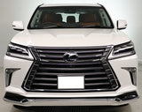 Genuine Lexus Japan 2016-2019 LX 570 Factory Painted Front Spoiler Kit with Chrome Garnish