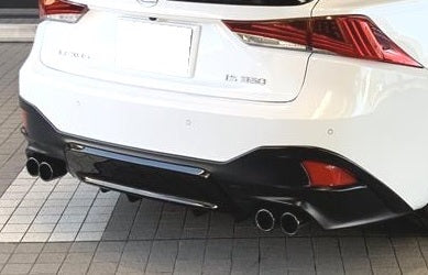 TRD JAPAN 2017-2019 Lexus IS Factory Painted Rear Diffuser Kit and Dual Exhaust System