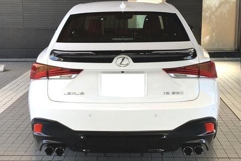 TRD JAPAN 2017-2019 Lexus IS F SPORT Factory Painted Rear Spoiler