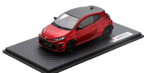 2020 Toyota GR YARIS 1/43 Scale Diecast Model Car (Red)