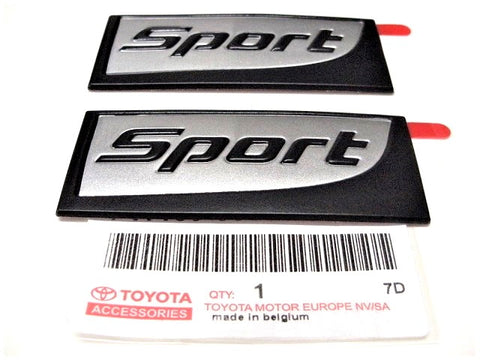 Genuine Lexus Europe 2017-2019 IS Sport Edition Badge Set