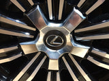 Genuine Lexus Japan 2016-2019 LX 570 Luxury PKG Wheel Center Caps (SET OF 4)