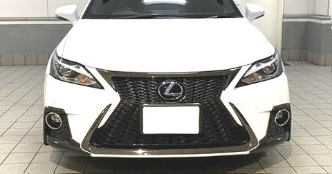 Genuine Lexus Japan 2014-2019 CT F-Sport Front Grille Black Chrome Garnish Set