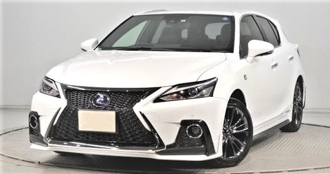 TRD JAPAN 2018-2019 Lexus CT F-Sport Factory Painted Front Spoiler Kit