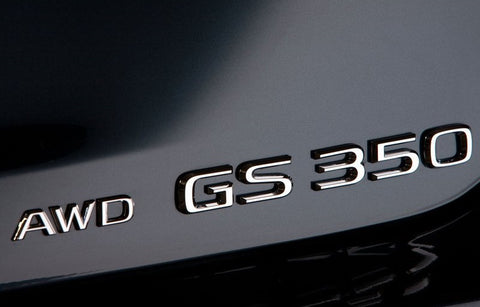 Genuine Lexus Japan 2013-2019 GS 350 AWD Chrome Rear Emblem
