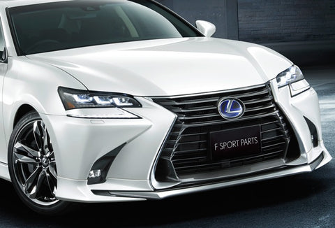 Genuine Lexus Japan 2016-2019 GS Factory Painted Front Spoiler Kit with Chrome Garnish