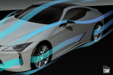 TRD JAPAN 2018-2019 Lexus LC 500/500h Factory Painted Side Skirts