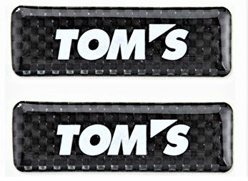 2017 TOM'S JAPAN Carbon Badge Set (Set of 2)