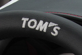 TOM'S JAPAN 2011-2018 CT Black Leather and Gun Grip Racing Steering Wheel