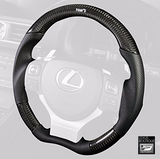 TOM'S JAPAN 2014-2016 IS Real Carbon Fiber and Gun Grip Racing Steering Wheel