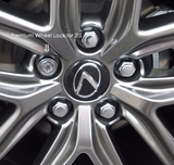 Genuine Lexus Japan 2014-2016 IS Premium Wheel Lock Set