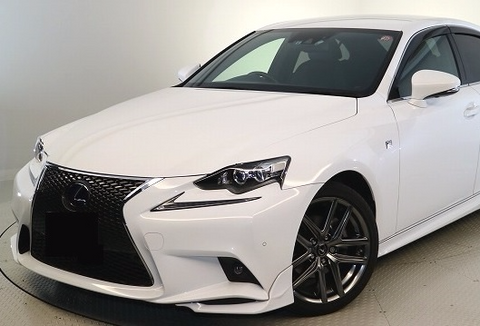 TRD JAPAN 2014-2016 Lexus IS F-SPORT Front Spoiler