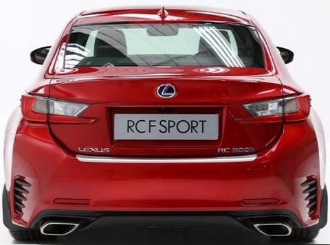 Genuine Lexus Europe 2015-2018 RC Rear Bumper Protection Plate