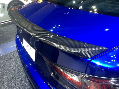 Genuine Lexus Japan 2016-2019 GS-F Carbon Fiber Rear Spoiler