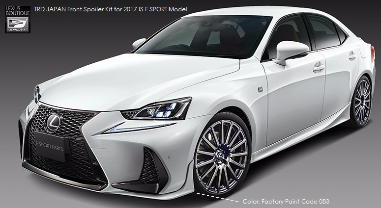 2011 Lexus Es 350 >> TRD JAPAN 2017-2019 Lexus IS F-Sport Factory Painted Front ...