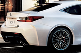 Genuine Lexus Japan 2015-2018 RC-F Factory Painted Rear Fender Flares Wheel Arch Set