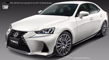 TRD JAPAN 2017-2019 Lexus IS F-Sport Factory Painted Front Spoiler Kit