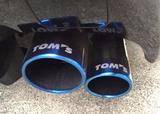 TOM'S JAPAN 2015-2018 Lexus RC-F Titanium Tail Exhaust System