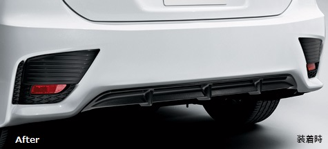 Genuine Lexus Japan 2014-2017 CT F-Sport Rear Bumper Bezel Set