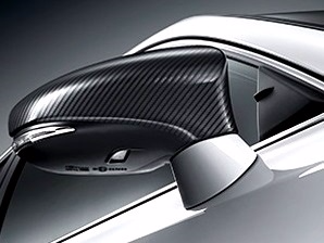 Genuine Lexus Europe 2014-2016 IS Carbon-Look Mirror Covers