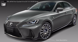 TRD JAPAN 2017-2020 Lexus IS F-Sport Factory Painted Front Spoiler Kit