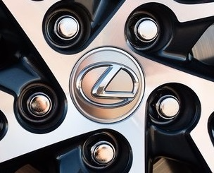 Genuine Lexus Japan 2013-2019 Premium PKG Wheel Center Caps (SET OF 4)