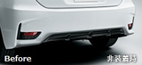 Genuine Lexus Japan 2014-2017 CT F-Sport Rear Bumper Bezel