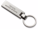 TRD JAPAN Chrome Metal Key Ring
