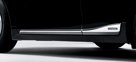Genuine Lexus Japan 2014-2019 CT Chrome Body-Side Moldings