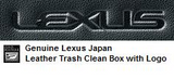 Genuine Lexus Japan 2011-2019 CT Leather Trash Clean Box