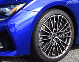 Genuine Lexus Japan F SPORT Factory PKG Wheel Center Caps (SET OF 4)