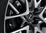Genuine Lexus Japan 2011-2019 F-Sport Factory PKG Wheel Center Caps (SET OF 4)