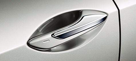 Genuine Lexus Japan 2015-2018 RC/RC-F Chrome Door Handle Covers