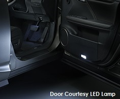 Genuine Lexus Japan 2014-2016 JDM Door Courtesy LED Lamp Unit Set