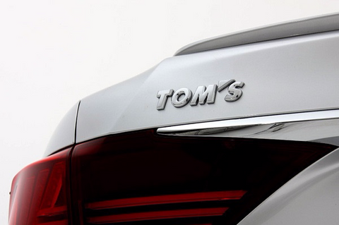 TOM'S JAPAN Chrome Rear Emblem