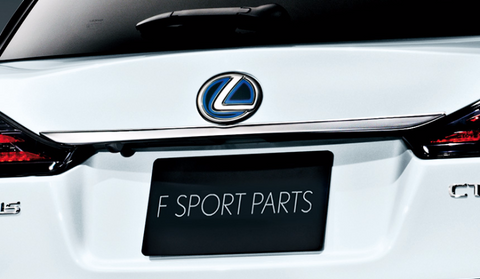 Genuine Lexus Japan 2011-2018 CT Back Door Chrome Garnish Set