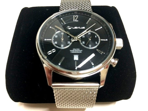Lexus Stainless Steel Chronograph Watch