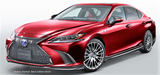 TRD JAPAN 2019 Lexus ES Factory Painted Side Skirts
