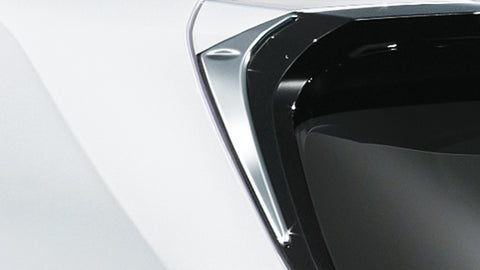 Genuine Lexus Japan 2019-2021 UX Back Door Side Chrome Garnish Set