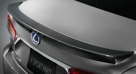 Genuine Lexus Japan 2018-2019 LS 500/500h Carbon Fiber Rear Spoiler Kit