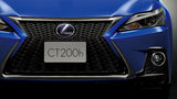 Genuine Lexus Japan 2014-2019 CT F-Sport Front Grille Lower Black Chrome Garnish