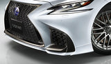 TRD JAPAN 2018-2019 Lexus LS 500/500h F-Sport Factory Painted Front Spoiler Kit