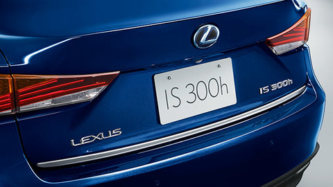 Genuine Lexus Japan 2017-2019 IS Chrome Rear Trunk Garnish