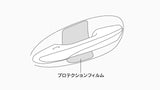 Genuine Lexus Japan 2018-2020 LS 500/500h Door Handle Protection Film (SET OF 4)