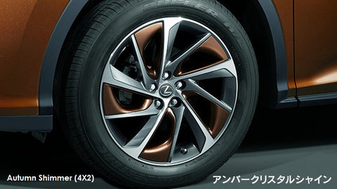 Genuine Lexus Japan 2016-2019 RX Factory Painted Alloy Wheel Inserts Set (SET OF 20)
