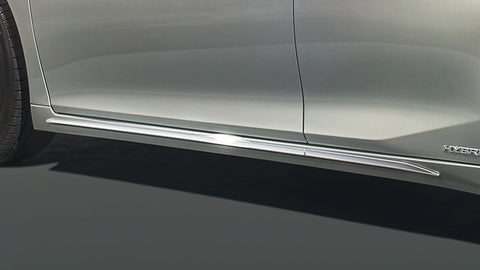 Genuine Lexus Japan 2019-2020 ES Chrome Body-Side Lower Moldings