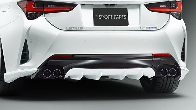 TRD JAPAN 2019 Lexus RC Factory Painted Rear Diffuser Kit and Dual Exhaust  System