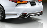 TRD JAPAN 2018-2019 Lexus LS Factory Painted Rear Diffuser Kit and Dual Exhaust System