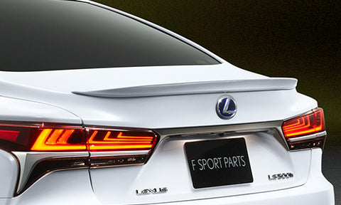 TRD JAPAN 2018 Lexus LS 500/500h F SPORT Factory Painted Rear Spoiler
